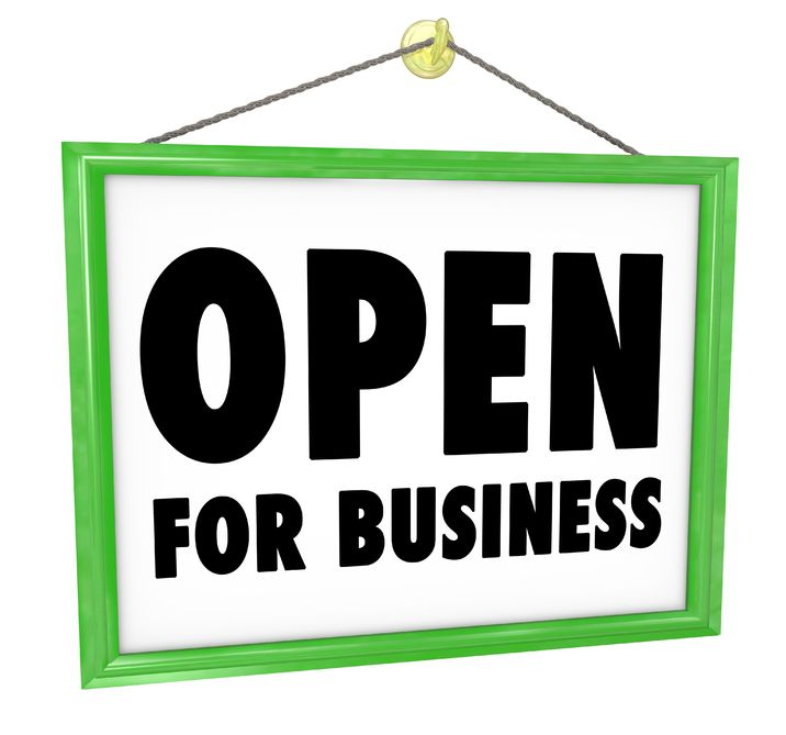 Open For Business Pic