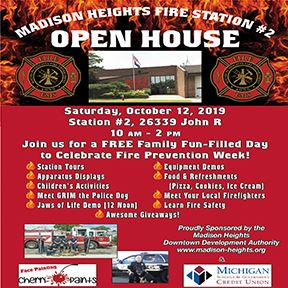 Fire Open House