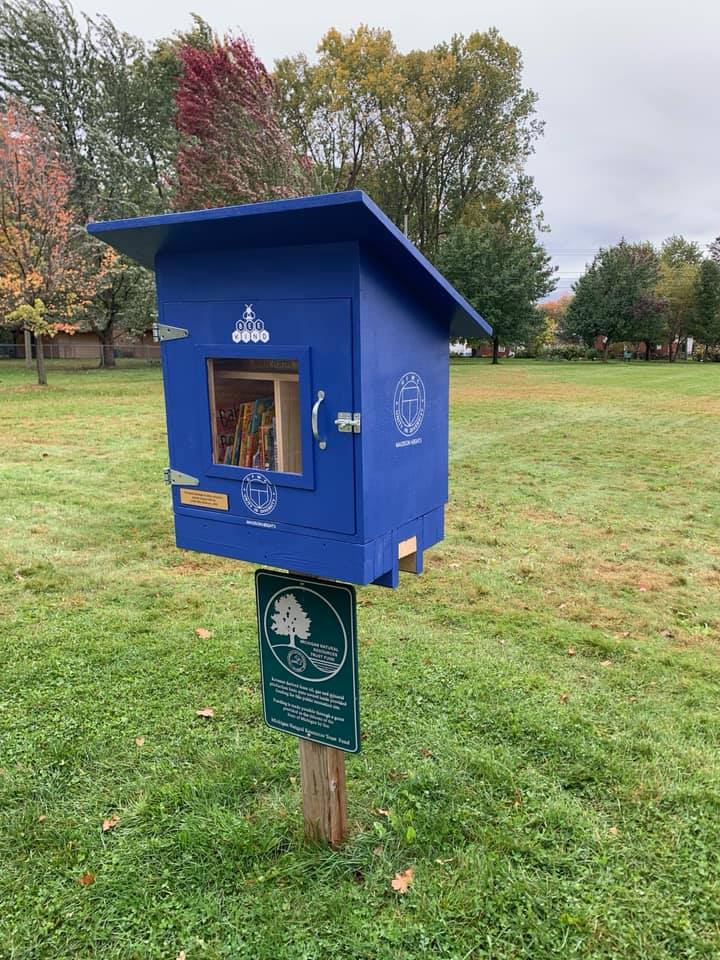 little free library new