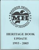 Heritage Book Update 1993 to 2005